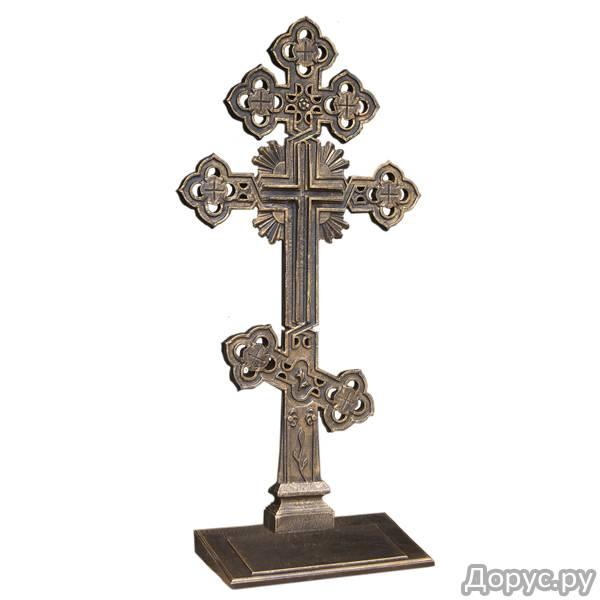 Производство и продажа литых чугунных крестов - Ритуальные услуги - Мастерская Кузнец занимается про..., фото 2
